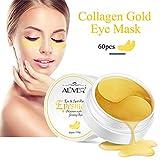 30 Pairs Under Eye Collagen Gel Pads - Gold Powder Eye Masks Face