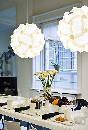 Modern Contemporary White Round Designer Lamp Shade, Scandinavian European  Style Interior Design Light Shade,