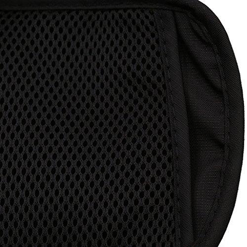 Geld Gürtel Taille Brieftasche Pounch Buit-in RFID Blocking Versteckte Trave Passport Brieftaschen Mit 1x Pass und 6 x Kreditkarte RFID Sleeves Von Hibote Schwarz aaibDIavv