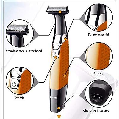 Afeitadora eléctrica de los hombres Razor bikini trimmer cuerpo ...