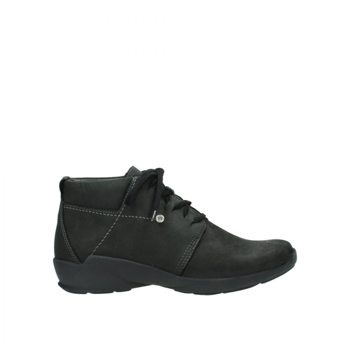 Wolky comodidad Lace Up Zapatos 01571 Jaca 38 EU|10000 Black Nubuck