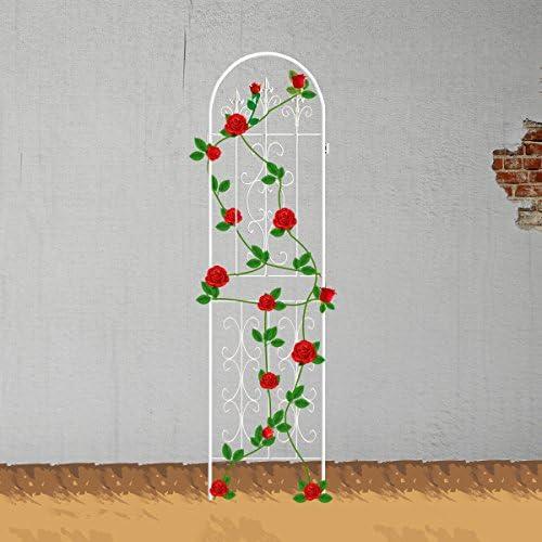 ecotrellis jardín enrejado planta valla paneles de alambre de metal celosías rejilla para plantas trepadoras en maceta vides? 43.3