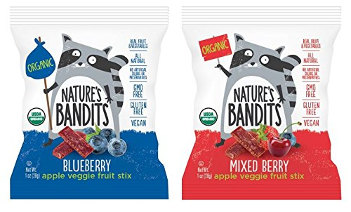 Nature S Bandits Organic Fruit Veggie Stix