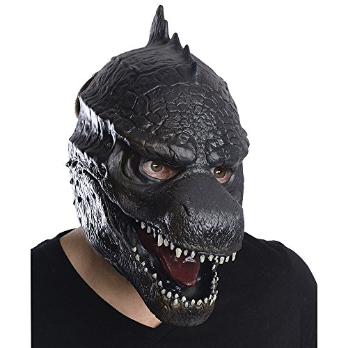 Costume Mothra (Rubie's Costume Men's Godzilla Adult 3/4 Vinyl Mask, Multi, One)