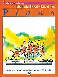Alfred's Basic Piano Technic Book Lvl 1A --- Piano - Palmer, Manus & Lethco --- Alfred Publishing