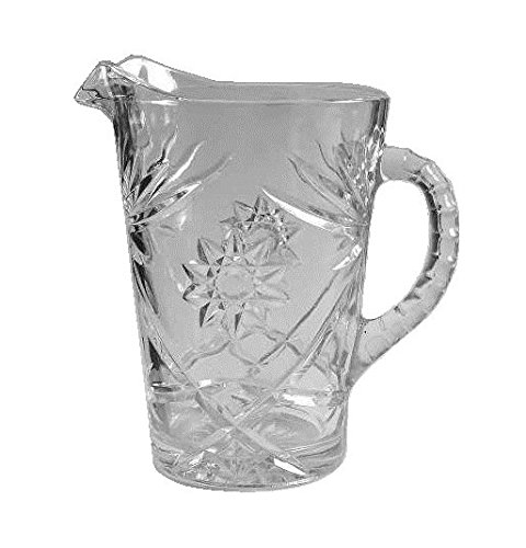 Anchor Hocking Prescut Clear Glass ( 54 Oz Pitcher )