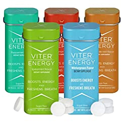 Viter Energy Caffeinated Mints - 5 Flavo...