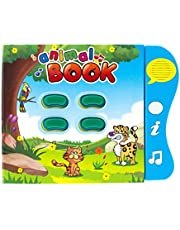 Animal Learning Sound Book by Boxiki Kids. Activity Book For Toddlers and Early Baby Development. Electronic Animal Book: Play Music, Learn Animal Names, Sounds and More