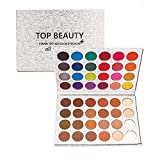 Best Matte Eye Shadows - TOPBeauty 48 Colors Glitter matte Eyeshadow Palette Charming Review