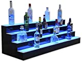 4 Tier LED Lighted Liquor Display (42'' Length)