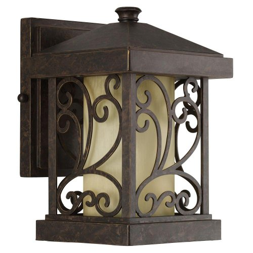 Bronze Finished Wall Lantern (Progress Lighting Cypress Collection Forged Bronze 1-light Wall)