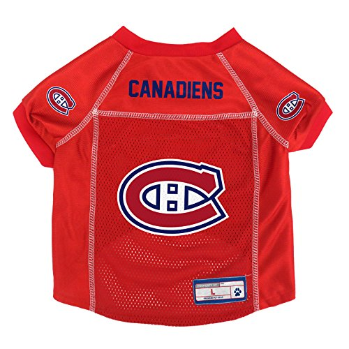 (NHL Montreal Canadiens Pet Jersey, Small)
