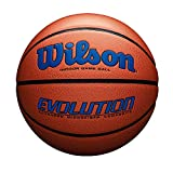 Wilson Evolution Game Basketball, Royal, Official Size - 29.5""