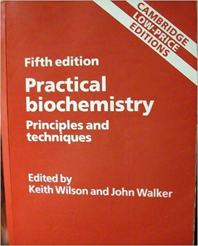 Pdf books practical biochemistry