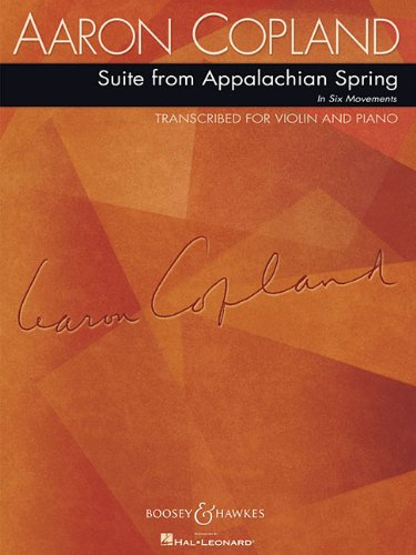 Suite from Appalachian Spring: for Violin and -