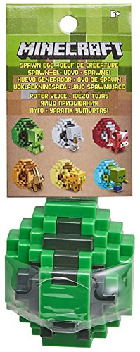 TOP NOTCH TOYZ Minecraft Spawn Egg Creeper Mini Figure (Spawn Mini Figures)