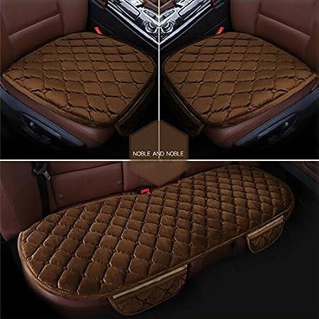 Villexun auto cuscino peluche inverno tre pezzi cuscini auto cuscino set (3colori disponibili)