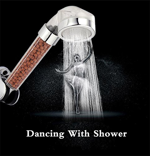 SHERRI'S HOME AND GARDEN Filtering Handheld Zen Spa-like Rain Shower Head