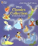 10 Disney Little Golden Books Slipcase Set (includes Snow White, Cinderella, Peter Pan, Pinnochio, Lady and the Tramp, Alice in Wonderland, Fox and the Hound, Jungle Book, Sleeping Beauty, and The Sorcerer's Apprentice)