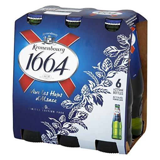 51nnYAYpYXL Kronenbourg-1664-Lager-Beer-Bottle-6-x-275ml