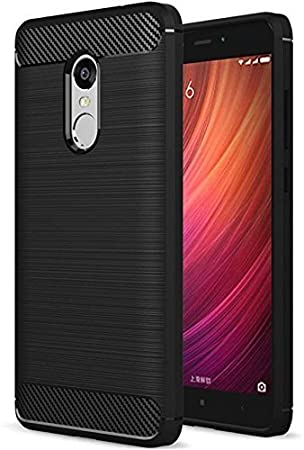best quality 31904 222c1 Tudia Back Cover for Xiaomi Redmi Note 4 Black Rugged Armor Best ...