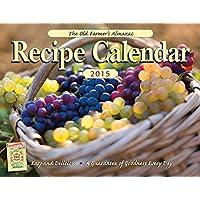The Old Farmer's Almanac 2015 Recipe Calendar
