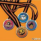Spooktacular! Halloween Award Medals - 12 pcs