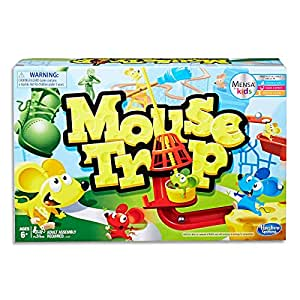 Mouse Trap - Mensa for Kids - 2 to 4 Players - Kids Educational Board Games & Toys - Ages 6+