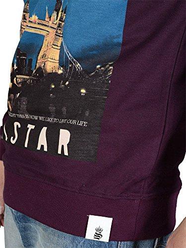 Soul Star - Sweatshirt - longsleeve - plum-M