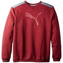 PUMA Men's Logo Crew Sweatshirt
