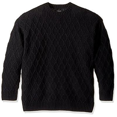 Nice OBEY Men's Calafia Oversize Crew Neck Sweater for sale
