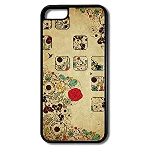 TYHde IPhone 6 plus 5.5 Cases Abstract Flower Design Hard Back Cover Shell Desgined ending