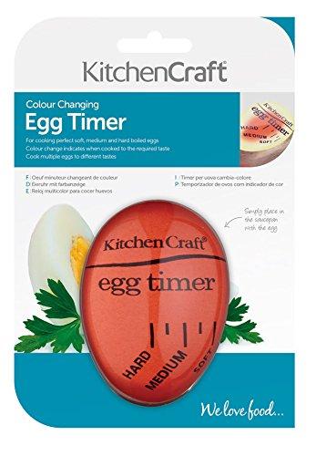 KitchenCraft Heat-Sensitive Colour-Changing Egg Timer