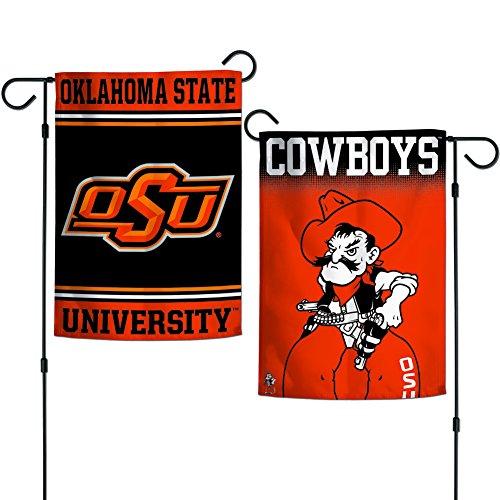 Elite Fan Shop Oklahoma State Cowboys Garden Flag 12.5