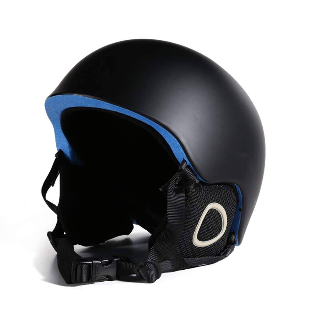 BLUEDYYY Skihelm Schnee Helm Skateboard Ski-Schutz-Fahrrad/Skateboard-Helm für Erwachsene Pendler Fahrrad Skate Breathable Bequem für Outdoor-Baseball,A,S