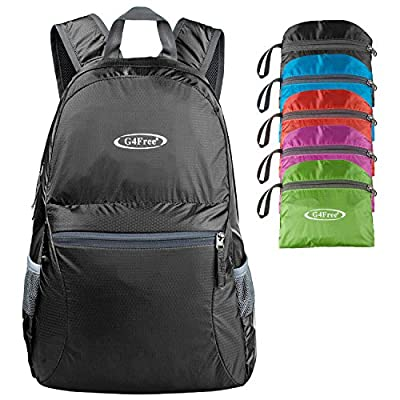 G4Free Ultra Lightweight Packable Backpack Hiking Daypack ,Handy Foldable Camping Outdoor Backpack