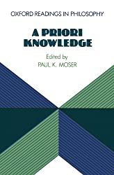 A Priori Knowledge (Oxford Readings in Philosophy)