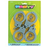 Beistle Company Plastic Handcuffs (4 count)