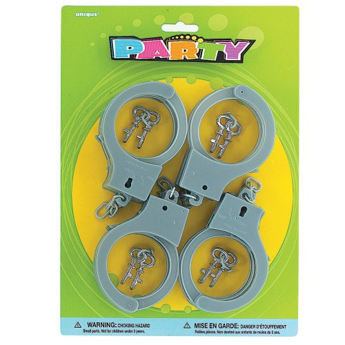 Plastic Toy Handcuff Party Favors