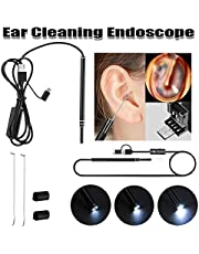 Medical In Ear Cleaning Endoscope Spoon Mini Camera Ear Picker Ear Wax Removal Visual Ear Mouth Nose Otoscope Support Android PC