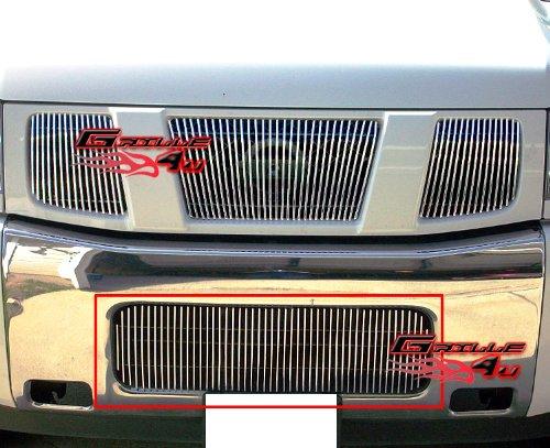 Fits 2004-2015 Nissan Titan/04-07 Armada Bumper Vertical Billet Grille #N19-V31458N