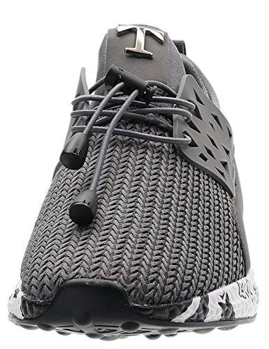 Deportivas Zapatillas Hombre A17 IIIIS Running gray Zapatillas Cordones en T de Gimnasio Hombre Zapatillas Hombre qtqw401n