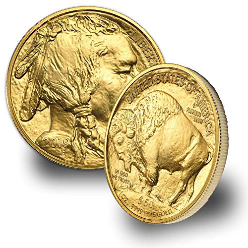(2019 1 oz Gold American Buffalo $50 Brilliant Uncirculated US Mint)