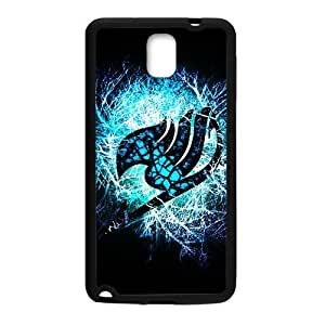 Blue shiny Fairy Tail Cell Phone Case for Samsung Galaxy Note3