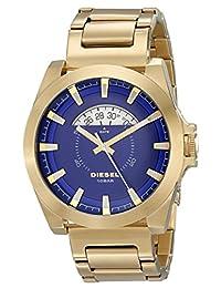 Diesel Men's Arges DZ1663 Gold Stainless-Steel Analog Quartz Watch