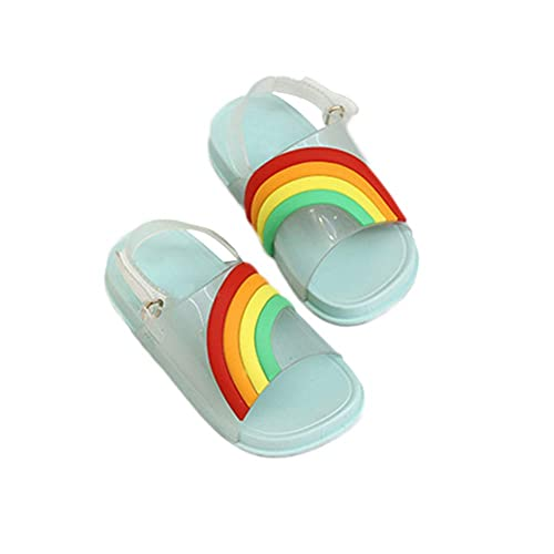 14ad2efac3b0a Amazon.com | iFANS Kids Slide Sandal Girls Sandals Rainbow Flat ...