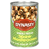 Dynasty Straw Mushrooms, 15-Ounce Packages (Pack of 12)