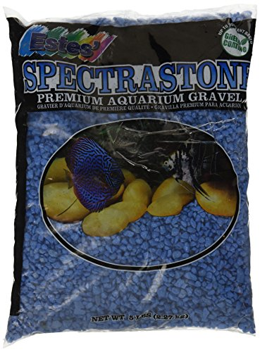 Special Fish (Spectrastone Special Light Blue Aquarium Gravel for Freshwater Aquariums, 5-Pound Bag)