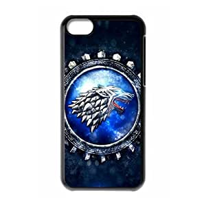New Design Durable Back Cover Case for Iphone 5C Phone Case - Game of Thrones HX-MI-092245