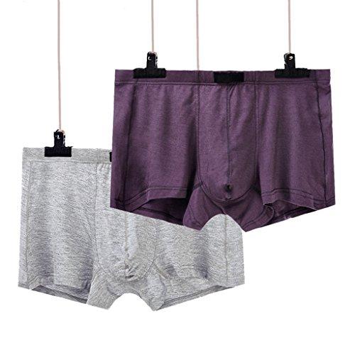 Pantalones Xxl Cuadrados Cortos 2 Interior Shorts Transpirables Grey Para Silicona Calzoncillos De Sin paquete Head Cxsm Ropa tamaño Boxer Hombres Cwx4qvfH